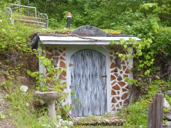 Building the Root Cellar; detailed building notes