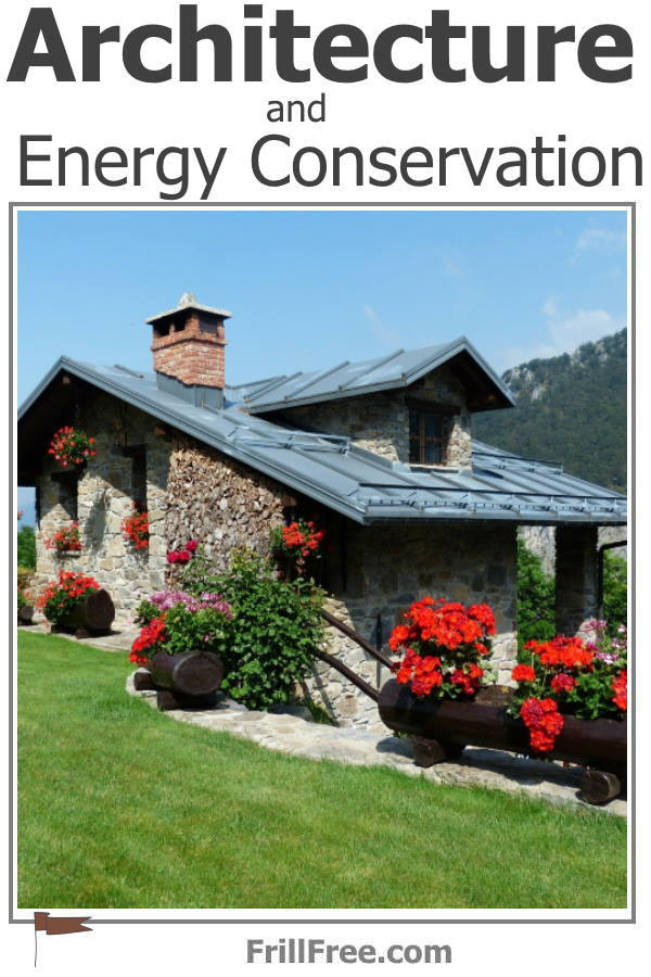 Stone cottage with standing seam metal roof