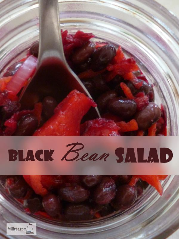 Black Bean Salad - mitochondria friendly recipe