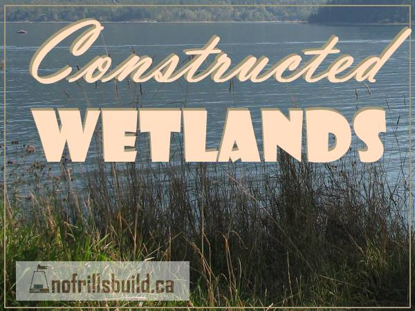Constructed Wetlands take a page from Mother Nature; waste water cleaning with the help of specialized organisms...