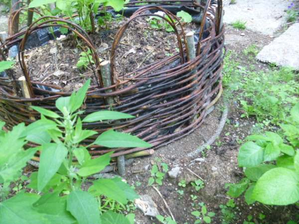 Make a 'coracle' bed