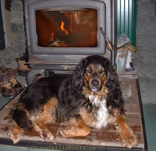Heating with Wood; cozy and snug, burning wood is the softest heat