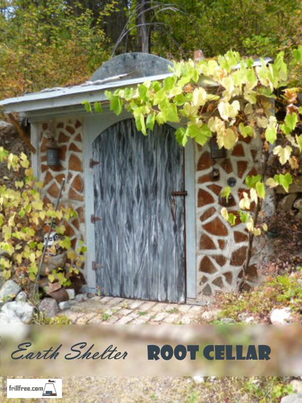Earth Shelter Root Cellar