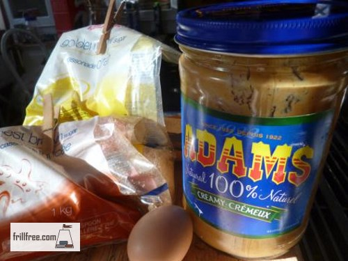 Extreme Peanut Butter Cookie ingredients