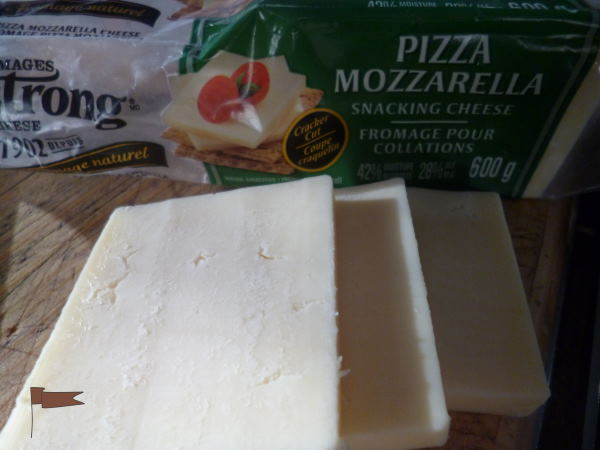 Stringy and stretchy, Mozzerella is best for topping