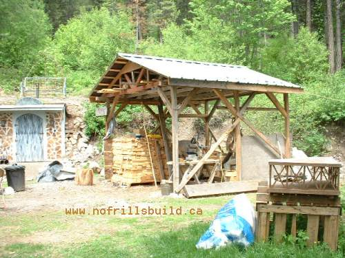 The Livery Wood Shed - more than just firewood storage