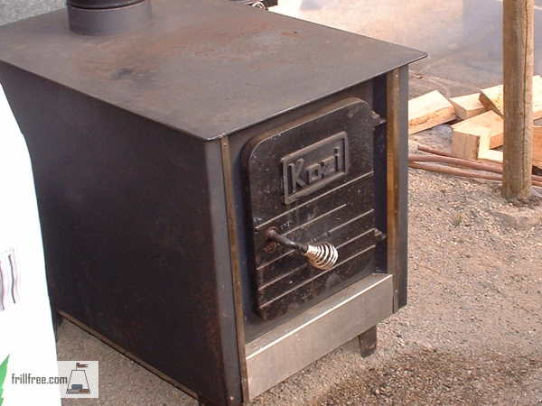 Masonry Stove - prior to the masonry part