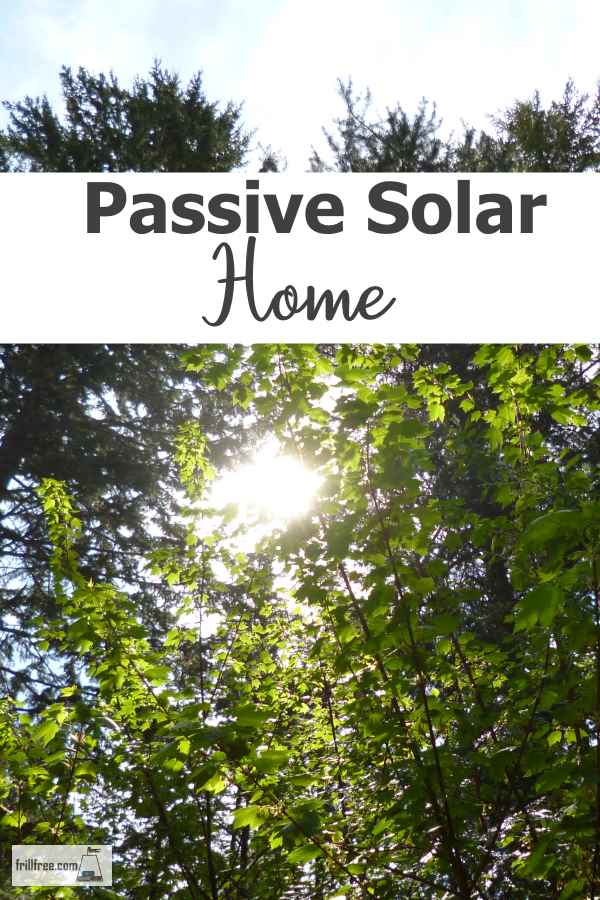 Passive Solar - heat your home with the suns energy...
