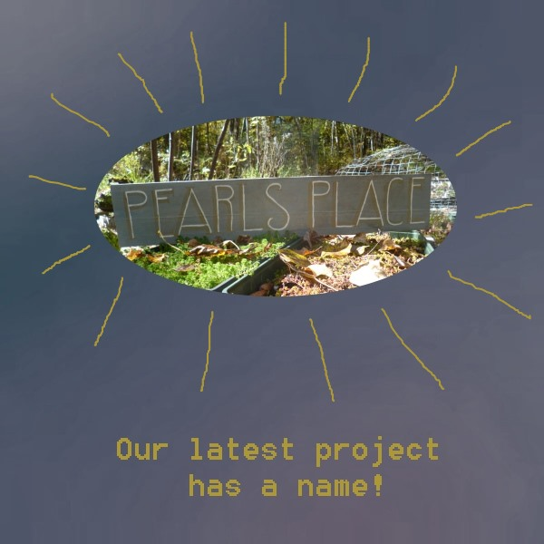 What's in a name? Pearls Place is finally a reality...