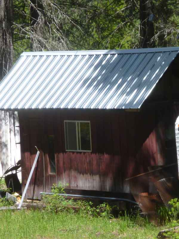 The color of the dark red paint is remeniscent of old time barns; oxblood and iron oxide...