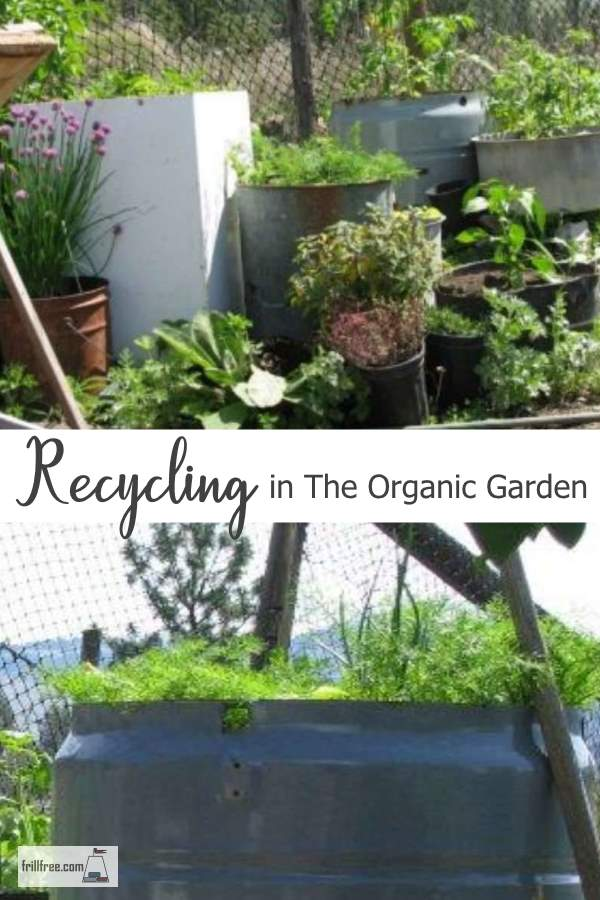 Recycling in the Organic Garden