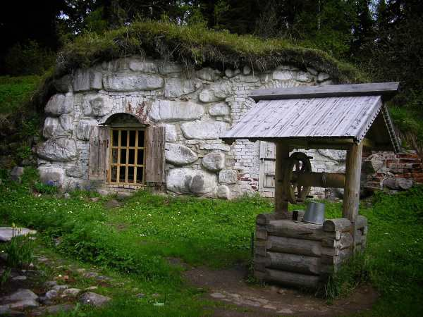 Root Cellar with nearby well