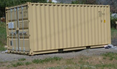 Start with one used shipping container, add imagination, create!