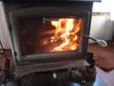 Cleaning the Wood Stove Window