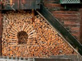 See more about Wood Shed Built of Firewood here...