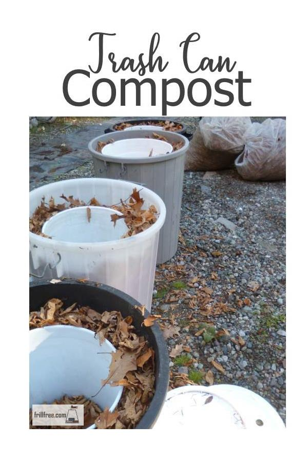 Trash Can Compost