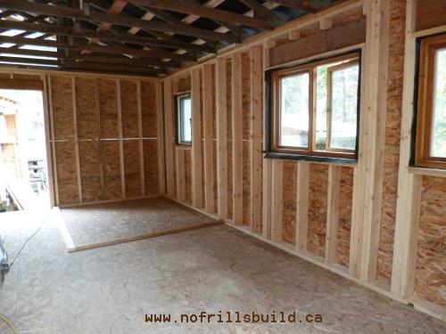 Wooden single paned windows - a no-no...