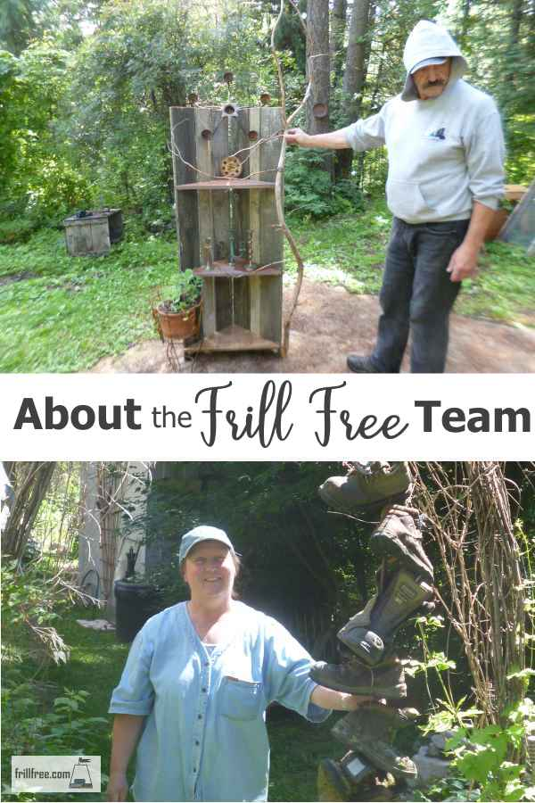About the Frill Free Team