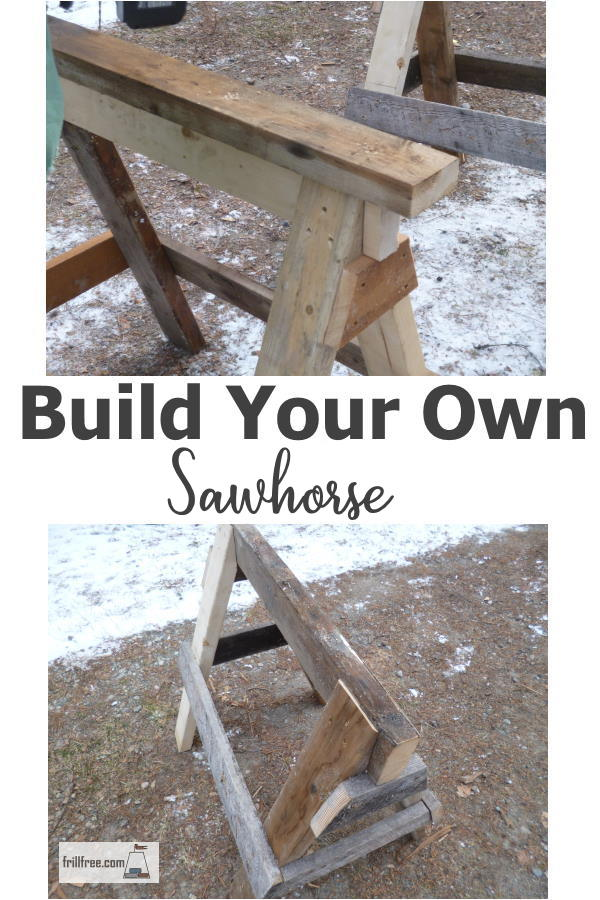 Build Your Own Saw Horse