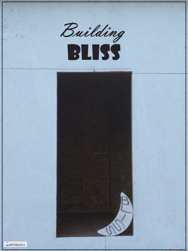 Building Bliss - a moveable shed on skids