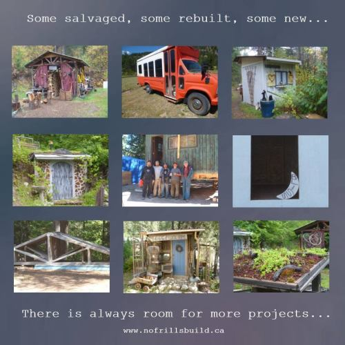What's your project looking like?  Funky? Sustainable? Tiny?  Join in the fun!