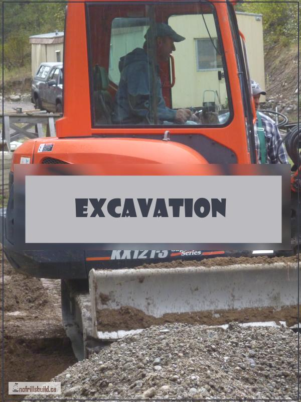Excavation of the footings for Pearls Place... Alternative Building | Tiny Home