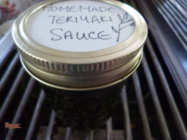 Put it in a jar with a tight fitting lid, in the fridge