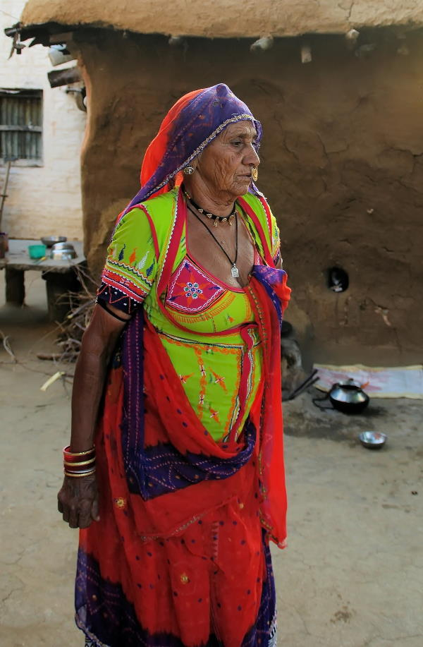Indian Dress with lots of colour and embroider