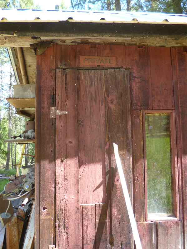 Everyone needs a private space for their very own; if it's rustic and made of salvaged materials, so much the better...
