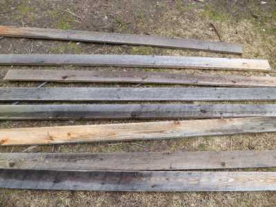 Salvaging and recycling lumber is time consuming and tedious...
