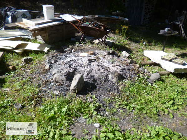 It's about time to renovate this fire pit...