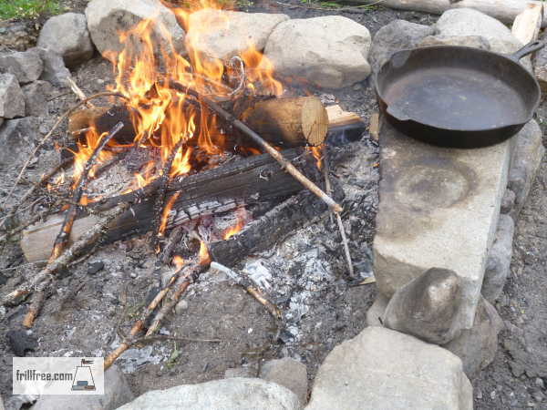 Get that fire going - you need coals!