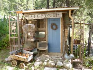 The Eggporeum - eclectic chicken house turned museum...
