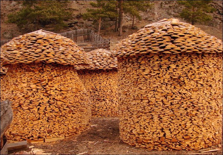 If you have lots of wood, make several domes...